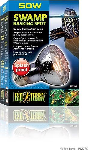 Exoterra Ampoule Swamp Basking Spot pour Reptiles et Amphibiens 50 W