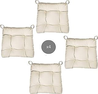 Abeil - Cojines para Silla, Color Beige