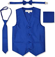 Johnnie Lene Boys Formal Dupioni Tuxedo Vest Set