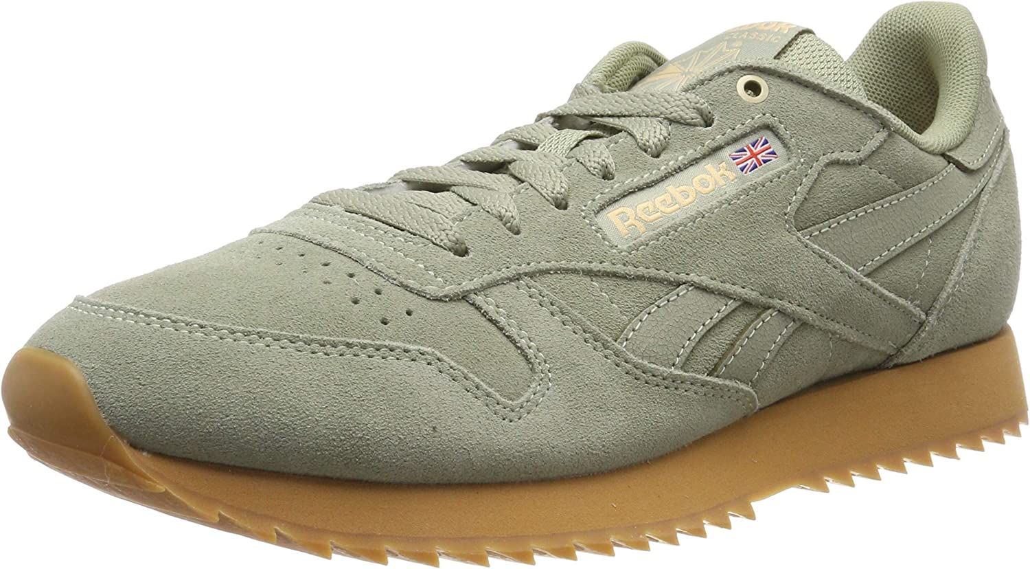 Reebok Men's's Classic Leather Ripple Low-Top Sneakers