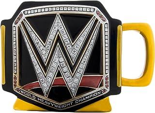 Silver Buffalo WE9995 WWE Championship Title Belt Jumbo Ceramic Mug, 20 oz, Multicolor