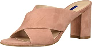 Stuart Weitzman Women's GALENE Sandal, desert rose Suede, 6 Medium US