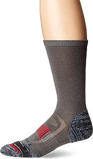 Merrell Men's 1 Pack Cushioned Zoned Light Hiker Socks (Low/Quarter/Crew Socks)