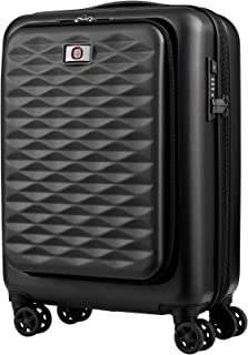 Wenger 604345 Lumen Expandable Hardside Business Carry-On, Black, 55 Centimeters