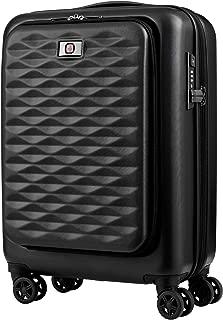 Wenger 604345 Lumen Expandable Hardside Business Carry-On, Black, 55 Centimeters