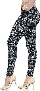 LMB   Lush Moda   Women's Extra Soft Leggings   Variety of Prints   One Size