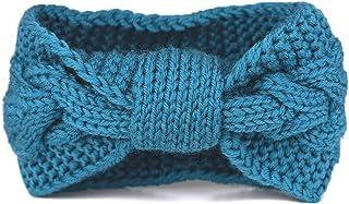Flammi Women's Cable Knit Headband Bowknot Head Wrap Ear Warmer