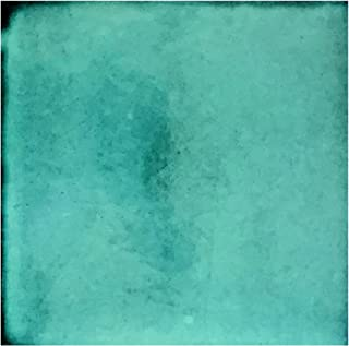 Rustico Tile and Stone TR4TURQUOISE Ceramic Tile Box of 90, 4 x 4, Turquoise Blue