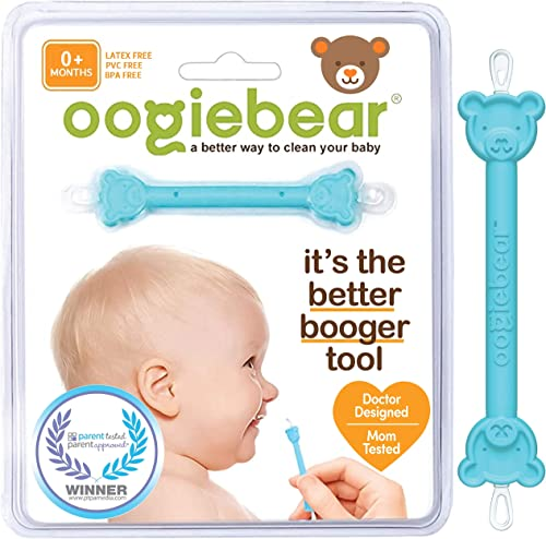 oogiebear - Curved Scoop and Loop - The Safe Baby Nasal Booger and Ear Cleaner - Baby Shower Registry Essential | Eas...