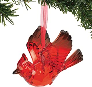Best Department 56 Christmas Basics Cardinal Bird Hanging Ornament, 3.125 Inch, Red Review