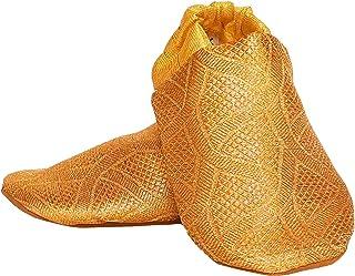 SKIPS Unisex Gold Boots-4 UK (20 EU) (5 Kids US) (2025-00-2)