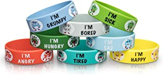 My Moods, My Choices Mood Bands; Help Kids Identify Feelings; Educational/Learning Tool; Stocking Stuffer