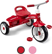 Radio Flyer Red Rider Trike, outdoor toddler tricycle, ages 2 ½ -5 (Amazon Exclusive)