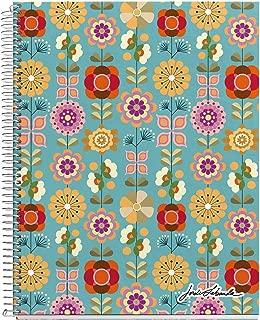 Jordi labanda floral - cuaderno, a4, 120 hojas, 210 x 297 mm.