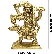 IndianStore4All 100% Original Brass God Pooja Statue (Idol) Indian Lord Hindu God (Shri Kaal Batuk Bhairava)