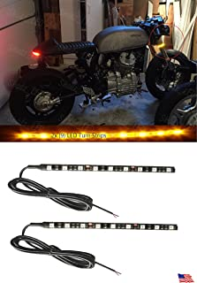Flexible Amber LED Motorcycle Turn Signal Lights