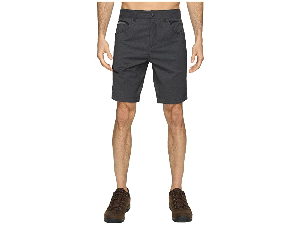 Royal Robbins Alpine Road Shorts (Charcoal) Men