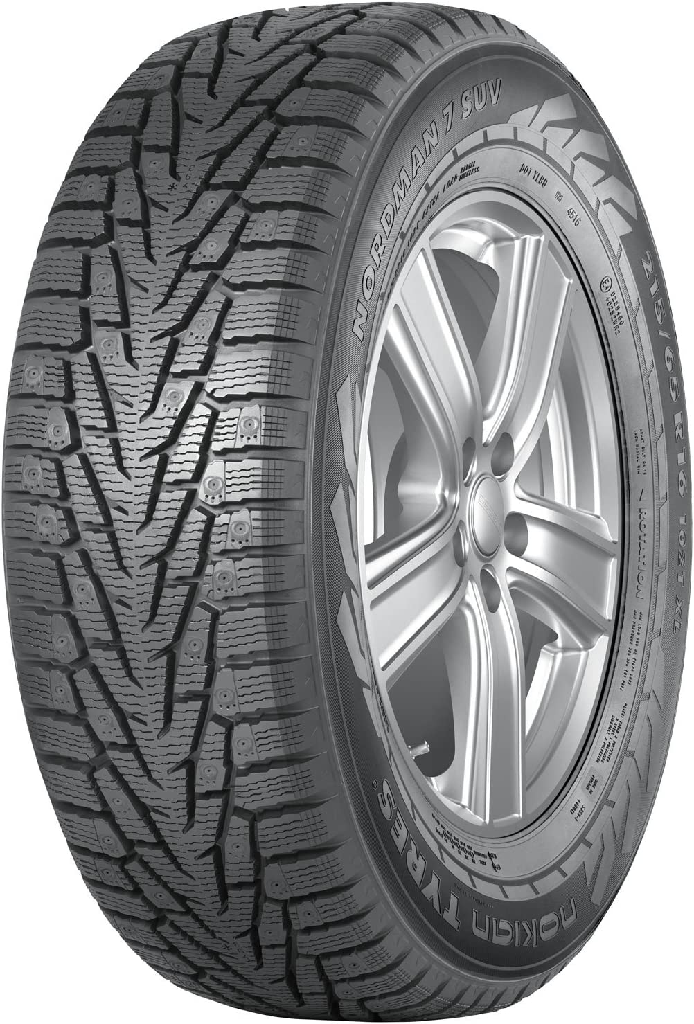 Nokian NORDMAN 7 SUV Large-scale sale Performance-Winter 265 Tire 5 ☆ very popular - 60R18 Radial