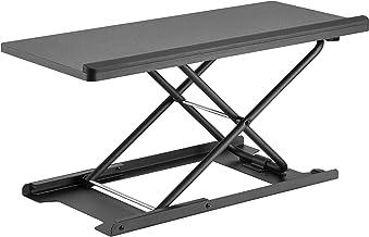 HumanCentric Keyboard and Mouse Stand (Black) – Adjustable Riser for Standing Desks/Desktops and Sit Stand Desks | Lifts U...