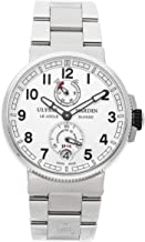 Ulysse Nardin Marine Mechanical (Automatic) Silver Dial Mens Watch 1183-126-7M/61 (Certified Pre-Owned)
