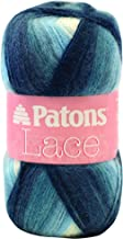 Patons Lace Yarn - (2) Fine Gauge  - 2.5 oz -  Porcelain -   For Crochet, Knitting & Crafting