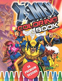 Amazon Com X Men Coloring Book Books
