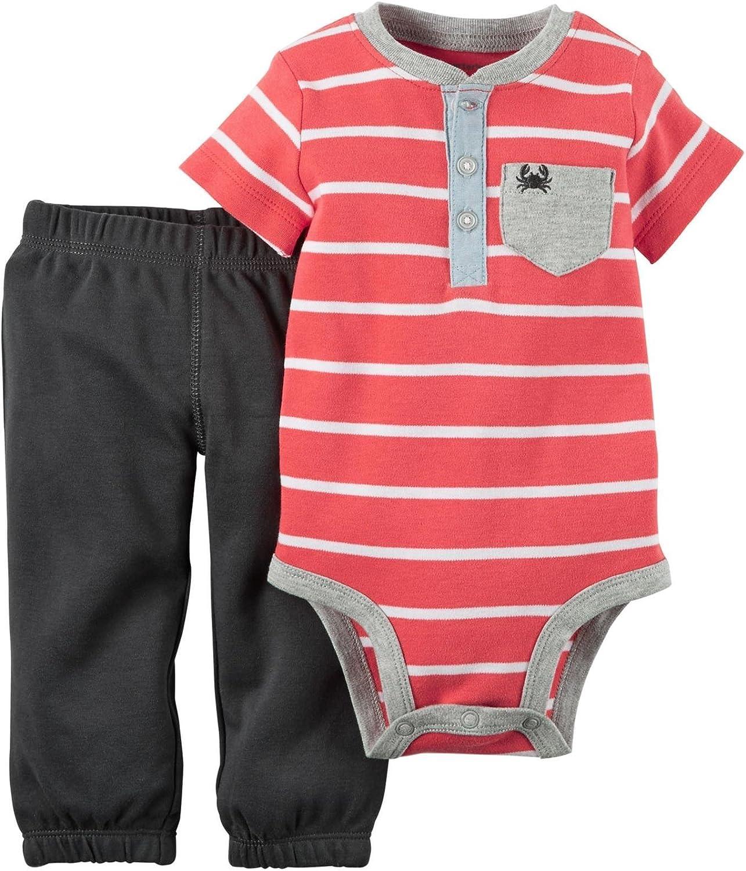 Carter's baby-boys 2 Piece Set 121g444