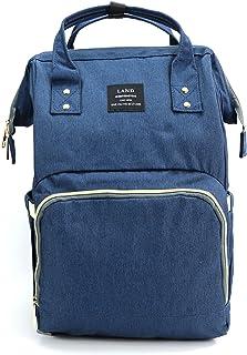 VAKKER Diaper Bag Backpack, Newborn Diapers Bag for Boys Girls, Army Green