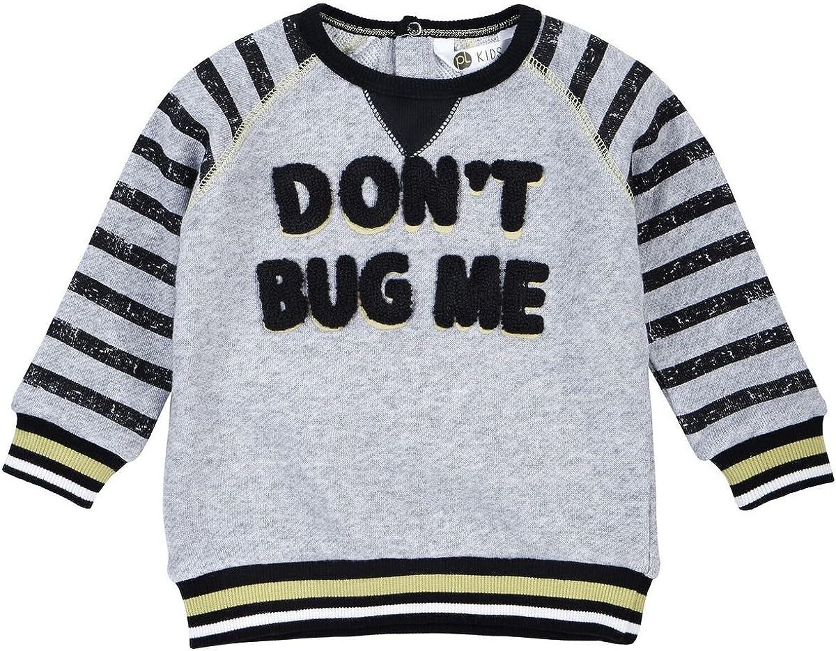 Petit Lem Boys' Little Bug Me Sweatershirt Knit