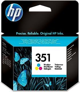 HP 351tri color Inkjet Print Cartridge gelb Tintenpatrone–Tintenpatronen (cyan, magenta, gelb, HP Officejet J5700, HP Photosmart C5200, HP Photosmart C4300, HP Photosmart C4200, HP Deskjet D4200, Tintenstrahldrucker, 20–80%, 15–35°C, 15–30°C)