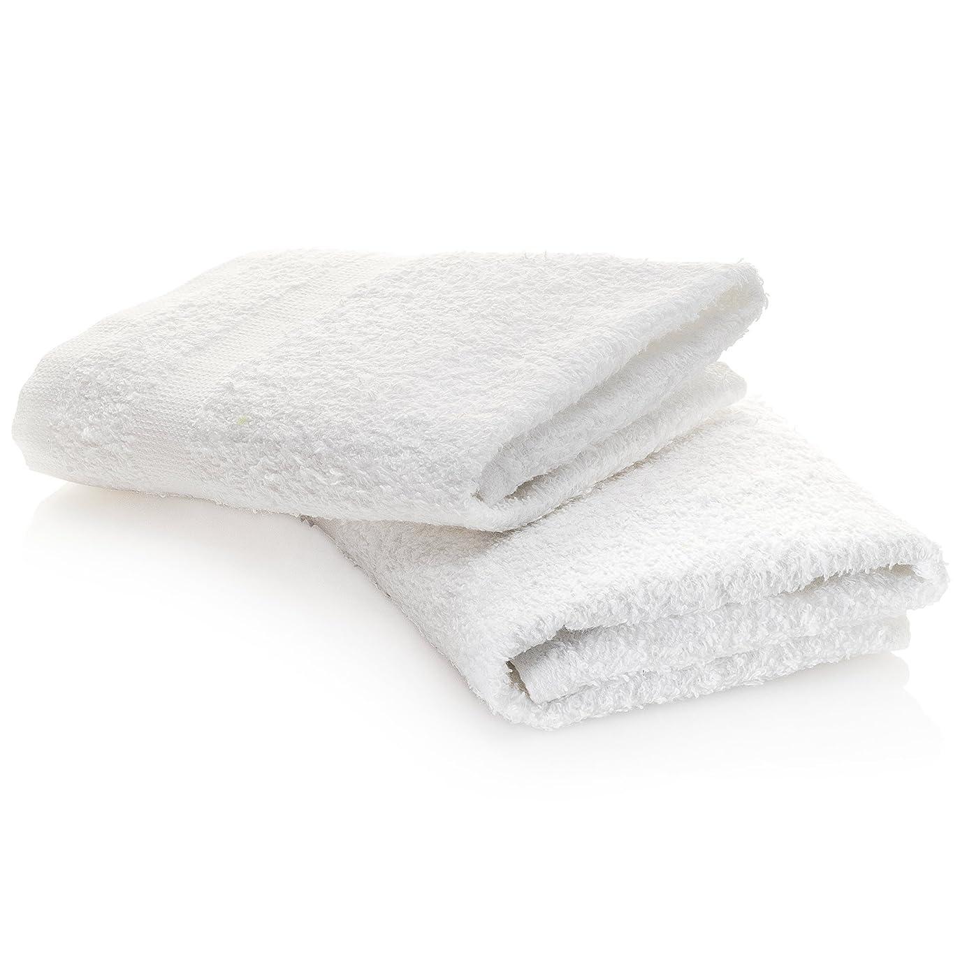 大胆な正気包帯MHF brand-12?pack-プレミアムホワイト100?% cotton-12?X 12?inch-wash布towels-16?/ Sリングスパン超ソフトタオル