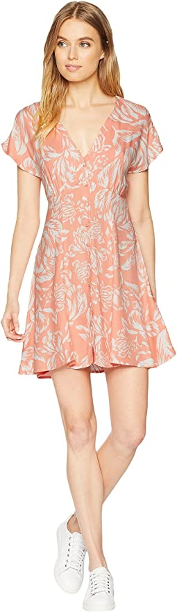 Assam Button Front Dress