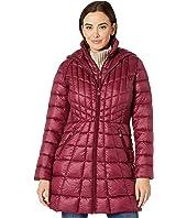 EcoPlume Bib Hooded Walker Puffer Coat