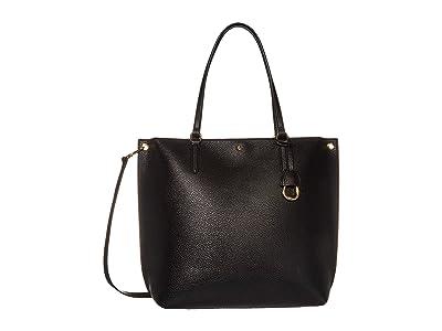LAUREN Ralph Lauren Merrimack Abby 33 (Black) Tote Handbags