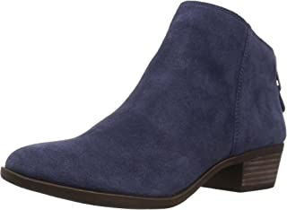 Lucky Brand Women's Bremma Ankle Boot, Moroccan Blu, 5 M US
