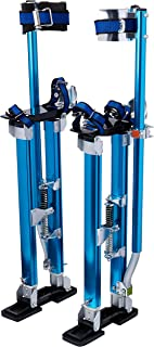 "Pentagon Tool Professional 24""-40"" Blue Drywall Stilts Highest Quality"