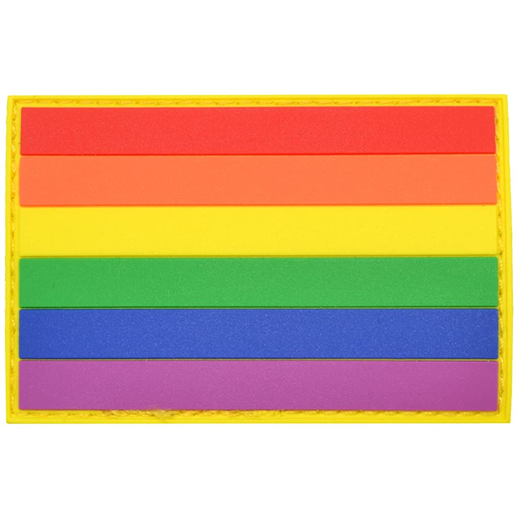 Pride Flag - 2x3 inch PVC Patch