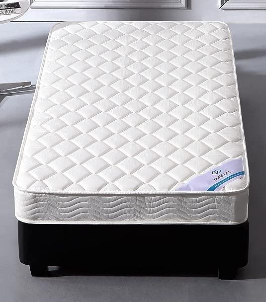 家居生活 FurMattB3260queen 舒适睡眠床垫 Queen White