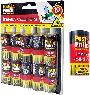 PEST POLICE Recogedores de moscas de papel pegajoso,SIN