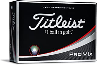 Titleist Pro V1x Golf Balls White Low Numbers 1-4 (One Dozen)