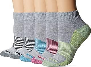 Copper Fit Women's 5pk Quarter Length Socks