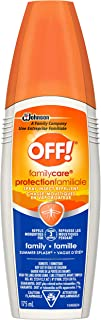OFF! FamilyCare Spray Insect Repellent - Summer Splash Sport, 175 ml