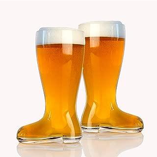 Domestic Corner Das Boot Beer Mug, 1 Liter, 2 Pack