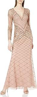 Women's Fully Beaded Long Dress