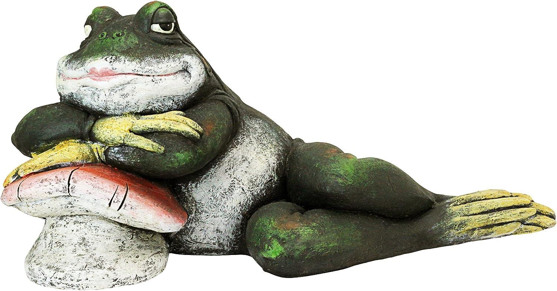 Design Toscano Cheap Beauty products sale FU84289 Bert The Garden Frog Flirtatious Sta Toad