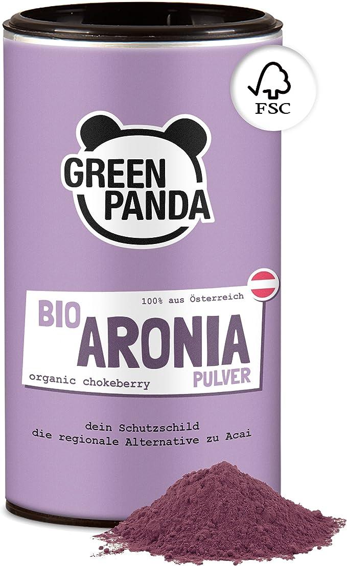 337 opinioni per GREEN PANDA® polvere di aronia biologica dall'Austria   a base di bacche di