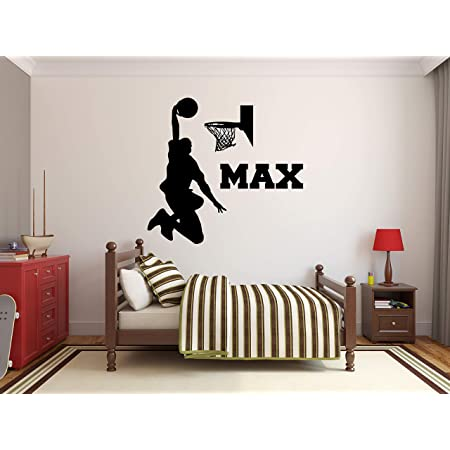 Sports Decal Vinyl Lettering Basketball Name Varsity Letter Wall Decals Vinyl Wall Decals Vinyl Decals Vinyl Wall Lettering