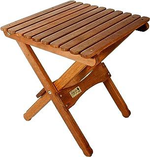 BYER OF MAINE ، Pangean ، میز چوبی تاشو ، چوب سخت ، میز پاسیو تاشو ، میز ایوان ، تاشو و حمل آسان ، مناسب برای کمپینگ ، میز کمپ چوبی ، خطوط مبلمان Pangean ، تک