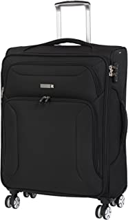 Megalite Fascia 26.6 Inch Expandable Checked Spinner Luggage
