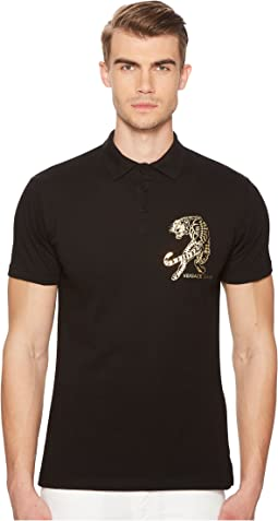 Versace Jeans - Tiger Embellished Polo